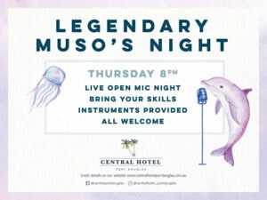 Musos Night @ the Central @ Central Hotel | Port Douglas | Queensland | Australia