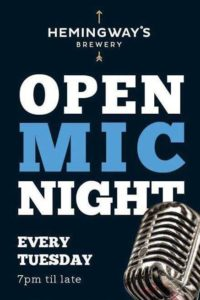 Open Mic Night @ Hemingway's Brewery @ Hemingway's Brewery | Port Douglas | Queensland | Australia