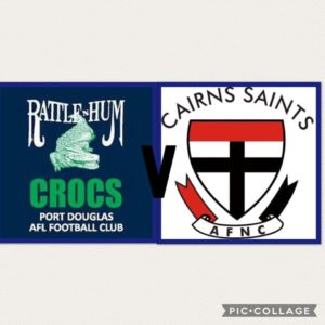 Port Douglas Crocs v Cairns Saints @ View Online via Facebook Live | Port Douglas | Queensland | Australia