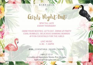 Girls Night @ Barbados Port Douglas @ Barbados Port Douglas | Port Douglas | Queensland | Australia