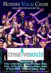 Modern Vocal Choir @ the Clink Theatre @ The Clink Theatre | Port Douglas | Queensland | Australia