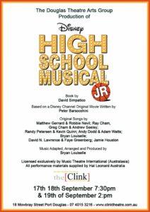 High School Musical @ the Clink Theatre @ The Clink Theatre | Port Douglas | Queensland | Australia