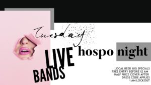 Hospo Night @ the Ironbar @ The Ironbar | Port Douglas | Queensland | Australia