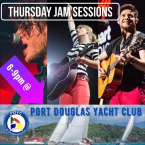 Jam Session @ the Port Douglas Yacht Club @ Port Douglas Yacht Club | Port Douglas | Queensland | Australia
