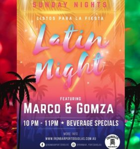 Latin Party with DJ Marco @ the Ironbar @ The Ironbar | Port Douglas | Queensland | Australia