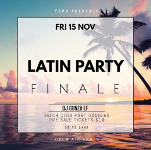 Latin Party Finale @ the Port Douglas Yacht Club @ Port Douglas Yacht Club | Port Douglas | Queensland | Australia