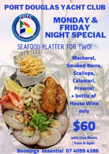 Seafood Platter @ the Port Douglas Yacht Club @ Port Douglas Yacht Club | Port Douglas | Queensland | Australia