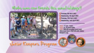 Wildlife Habitat Junior Keepers School Holiday Program @ Wildlife Habitat Port Douglas | Port Douglas | Queensland | Australia