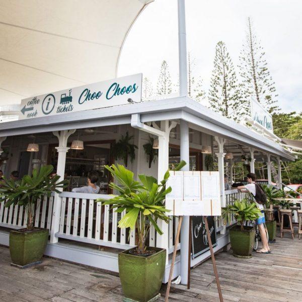 choo choos at the marina
