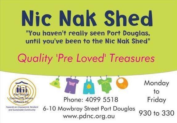 nic nak shed