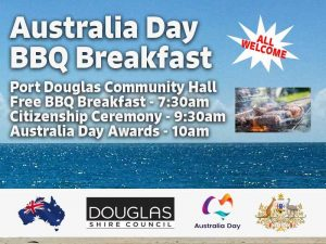 Australia Day BBQ Breakfast @ Port Douglas Community Hall | Port Douglas | Queensland | Australia