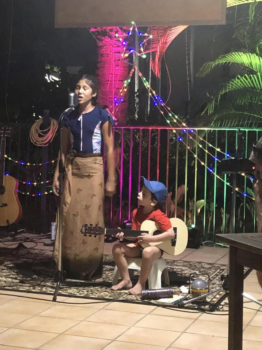 open mic plantation