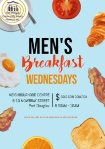 Men's Breakfast at the Port Douglas Neighborhood Centre @ Port Douglas Neighborhood Centre | Port Douglas | Queensland | Australia