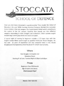 Stoccata School of Defense @ Port Douglas Community Hall | Port Douglas | Queensland | Australia