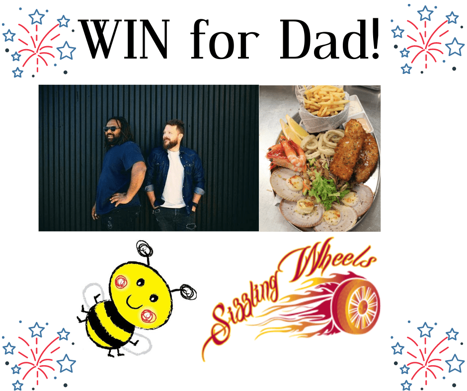 WIN an awesome Father's Day Prize Pack!!!