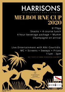 Melbourne Cup 2020 at Harrisons Sheraton Grand @ Harrisons | Port Douglas | Queensland | Australia