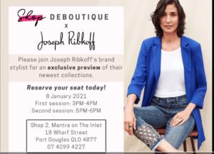Joseph Ribkoff new season exclusive at DeBoutique On Macrossan @ DeBoutique On Macrossan | Port Douglas | Queensland | Australia
