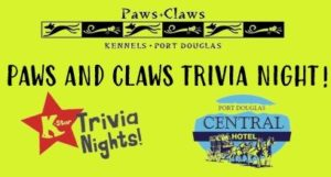 Paws and Claws Trivia Night @ Central Hotel Port Douglas | Port Douglas | Queensland | Australia